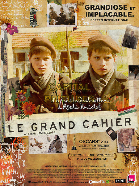 FRENCH POSTER ART<br /> in The Notebook (2013) <br /> (A nagy fuzet)<br /> (Le Grand Cahier)<br /> *Filmstill - Editorial Use Only*<br /> CAP/FB<br /> Image supplied by Capital Pictures