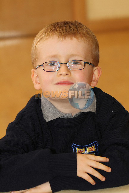 Monastery NS Ardee 2012 1st Day at School 2012...Photo NEWSFILE/Jenny Matthews.