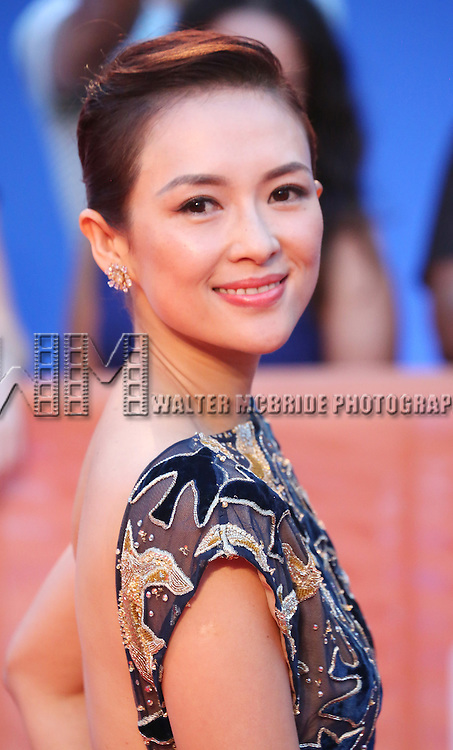 Ziyi Zhang attends 'The Magnificent Seven' Red Carpet Gala Opening Night of the 2016 Toronto International Film Festival at TIFF Bell Lightbox on September 8, 2016 in Toronto, Canada.