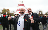 Fans outside Twickenham Stadium<br /> <br /> Photographer Rachel Holborn/CameraSport<br /> <br /> International Rugby Union Friendly - Old Mutual Wealth Series Autumn Internationals 2017 - England v Argentina - Saturday 11th November 2017 - Twickenham Stadium - London<br /> <br /> World Copyright &copy; 2017 CameraSport. All rights reserved. 43 Linden Ave. Countesthorpe. Leicester. England. LE8 5PG - Tel: +44 (0) 116 277 4147 - admin@camerasport.com - www.camerasport.com