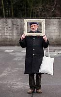 Alberto Casiraghy. Alberto Casiraghy è il fondatore di Pulcinoelefante, la casa editrice che stampa ancora oggi librini con i caratteri mobili in pochi, preziosi, esemplari. Osnago 19 gennaio 2019. © Leonardo Cendamo