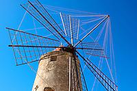 Nubia Salt Museum, Tropani Sicily. travel stock photos