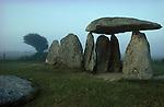 Pentre Ifan, cromlech, Nr Nevern  Pembrokshire, Wales. UK