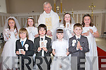 A great day for the pupils of Causeway schools as Fr Brendan Walsh PP St John's Church, Causeway,