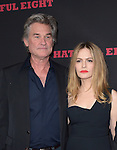 Kurt Russell and Jennifer Jason Leigh at The Weinstein L.A. Premiere of The Hateful Eight held at The Arclight Theatre in Hollywood, California on December 07,2015                                                                   Copyright 2015 Hollywood Press Agency