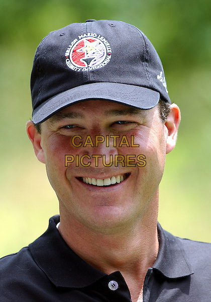 MARIO LEMIEUX .(NHL - Pittsburgh Penguin Superstar).participated at the 2004 Mellon Mario Lemieux Celebrity Invitational at The Club At Nevillewood,  Pittsburgh, PA, USA, June 10-13 2004..portrait headshot cap hat golf.Ref: ADM.www.capitalpictures.com.sales@capitalpictures.com.©Jason Nelson/AdMedia/Capital Pictures.