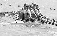 Brandenburg. GERMANY.<br /> GER W4X. Bow, Annekatrin THIELE, Carina BAER, Marie-Catherine ARNOLD, Lisa SCHMIDLA, at the start of their heat. 2016 European Rowing Championships at the Regattastrecke Beetzsee<br /> <br /> Friday  06/05/2016<br /> <br /> [Mandatory Credit; Peter SPURRIER/Intersport-images]