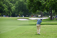Francesco Molinari (ITA) hits his approach shot on 3 during round 4 of the 2019 Charles Schwab Challenge, Colonial Country Club, Ft. Worth, Texas,  USA. 5/26/2019.<br /> Picture: Golffile | Ken Murray<br /> <br /> All photo usage must carry mandatory copyright credit (© Golffile | Ken Murray)