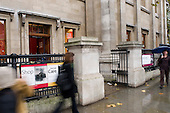 National Portrait Gallery, London.  Bookshop & Cafe entrance.