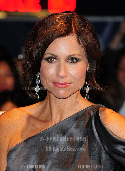 Minnie Driver attends the premiere of 'Hunky Dory' at The 55th BFI London Film Festival at The Vue West End, London.  25/10/2011 Picture by: Simon Burchell / Featureflash