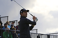 Patrick Cantlay (USA) tees off the 13th tee during Thursday's Round 1 of the 148th Open Championship, Royal Portrush Golf Club, Portrush, County Antrim, Northern Ireland. 18/07/2019.<br /> Picture Eoin Clarke / Golffile.ie<br /> <br /> All photo usage must carry mandatory copyright credit (© Golffile | Eoin Clarke)