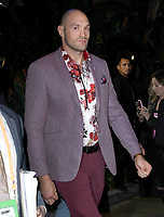 01 December 2018 - Los Angeles, California - Tyson Fury. Heavyweight Championship Of The World 'Wilder vs. Fury' held at The Staples Center. <br /> CAP/ADM/BT<br /> &copy;BT/ADM/Capital Pictures