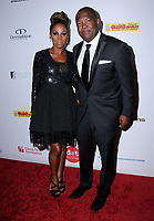 11 August  2017 - Beverly Hills, California - Holly Robinson-Peete, Rodney Peete. 17th Annual Harold &amp; Carole Pump Foundation Gala held at The Beverly Hilton Hotel in Beverly Hills. <br /> CAP/ADM/BT<br /> &copy;BT/ADM/Capital Pictures