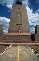 Quatorial monument, Quito, Ecuador