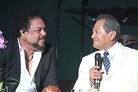 """2012.02.11* Armando Manzanero y Francisco Céspedes actuará en su """"Armando Un Pancho 'concierto en el Auditorio de Miami Dade en Miami, Florida. (©Majo Grossi/inc MediaPunch//NortePhoto)"""