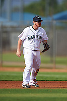 Seattle Mariners Tyler Marlette (34) during an instructional league intrasquad game on October 6, 2015 at the Peoria Sports Complex in Peoria, Arizona.  (Mike Janes/Four Seam Images)