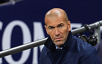 Zinedine Zidane, manager of Real Madrid during the UEFA Champions League Group H match between Tottenham Hotspur and Real Madrid at Wembley Stadium on November 1st 2017 in London, England.Foto Phc / Panoramic / Insidefoto