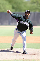 Juan Nicasio - Colorado Rockies - 2010 Instructional League.Photo by:  Bill Mitchell/Four Seam Images..