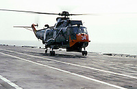 "The Italian aircraft carrier  ""G. Garibaldi"" ..Antisubmarine helicopters SH-3D"