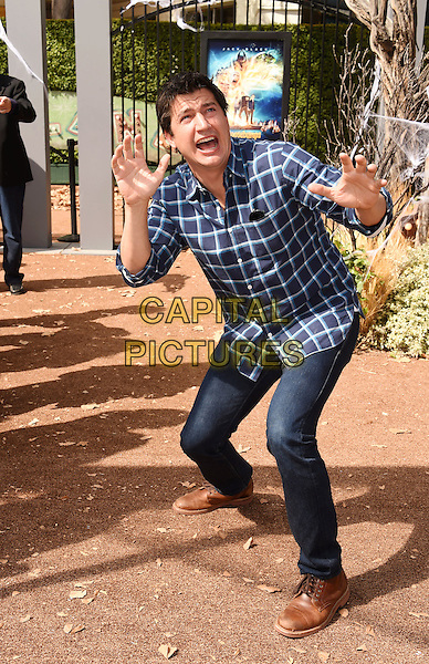 WESTWOOD, CA - OCTOBER 04: Actor Ken Marino attends the Premiere Of Sony Entertainment's 'Goosebumps' at the Regency Village Theater on October 4, 2015 in Westwood, California.<br /> CAP/ROT/TM<br /> &copy;TM/ROT/Capital Pictures