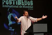 Montreal (Qc) CANADA - Aug   2010  - Festiblues International de Montreal : Normand Brathwaite