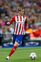 Atletico Madrid´s Spanish forward Fernando Torres
