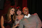 All My Children's Chrishell Stause & J.R. Martinez came to see fans - Ann Marie - on November 22, 2009 at the Brokerage Comedy Club & Vaudeville Cafe, Bellmore, NY for a Q & A, autographs and photos. (Photo by Sue Coflin/Max Photos)