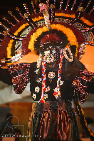 Trinidad Carnival, Black Indian mas costume