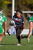 Tasesa Lavea tests the Turbos defensives once again. Air New Zealand Cup rugby game between the Counties Manukau Steelers & Manawatu Turbos, played at Growers Stadium Pukekohe on Staurday September 20th 2008..Counties Manukau won 27 - 14 after trailing 14 - 7 at halftime.