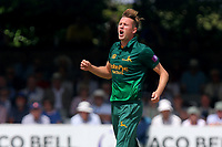 Jake Ball of Notts reacts as he goes close to a wicket during Essex Eagles vs Notts Outlaws, Royal London One-Day Cup Semi-Final Cricket at The Cloudfm County Ground on 16th June 2017