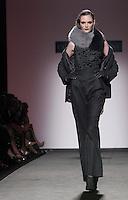Una modella presenta una creazione della collezione Autunno/Inverno 2013/2014 di Curiel Couture a Roma, 8 luglio 2013.<br /> A model wears a creation of Curiel Couture's fall/winter collection 2013/2014 during the Altaroma fashion week in Rome, 8 July 2013.<br /> UPDATE IMAGES PRESS/Isabella Bonotto