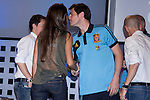 01.06.2012. Telecinco presents its official schedule for the transmission of Eurocup 2012 to the Ciudad del Futbol of Las Rozas, Madrid. In the image Sara Carbonero and Iker Casillas (Alterphotos/Marta Gonzalez)