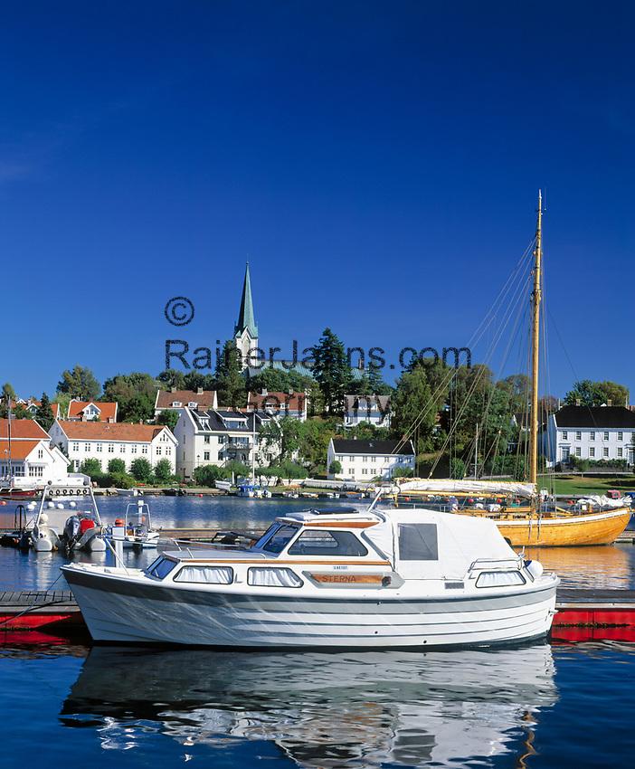 Norwegen, Aust Agder, Lillesand an der Sonnenkueste Suednorwegens | Norway, Aust Agder, Lillesand at South Norways Sunshine Coast