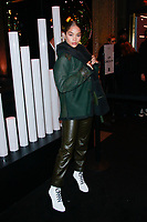NEW YORK, NY - FEBRUARY 7: Jasmine Sanders  seen on February 7, 2019 in New York City. <br /> CAP/MPI/DC<br /> &copy;DC/MPI/Capital Pictures