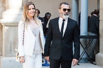 Antonio Banderas and his girlfriend Nicole Kimpel attends to the delivery of the Camino Real Award to spanish actor Antonio Banderas at Alcala de Henares in Madrid, April 26, 2017. Spain.<br /> (ALTERPHOTOS/BorjaB.Hojas)