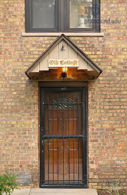 June 13, 2011; Old College Door..Photo by Matt Cashore/University of Notre Dame
