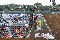 Brett Metcalfe (AUS)<br /> 2018 SX Open - Auckland / SX 1<br /> FIM Oceania Supercross Championships<br /> Mt Smart Stadium / Auckland NZ<br /> Saturday Nov 24th 2018<br /> © Sport the library/ Jeff Crow / AME