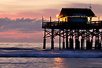 Cocoa Beach Pier at Sunrise, Cocoa Beach, Florida