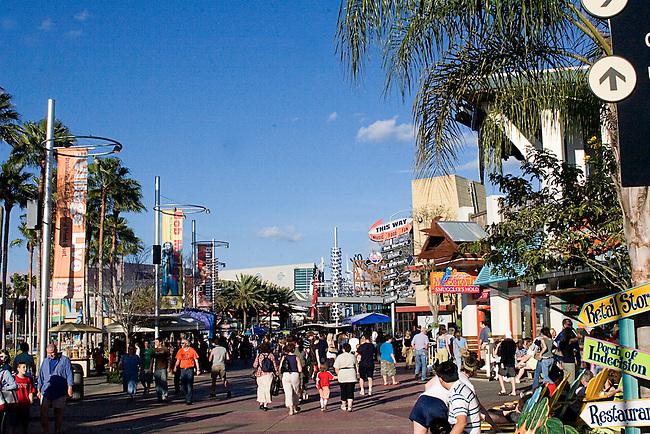 Universal Citywalk, Orlando, Florida