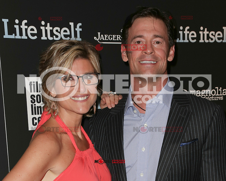 New York, NY - June 23 : Ashleigh Banfield and Christopher Heben attend the New York Premiere of Life Itself<br /> held at the Film Society of Lincoln Center Walter Reade Theater<br /> on June 23, 2014 in New York City. Photo by Brent N. Clarke / Starlitepics