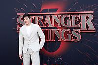 "LOS ANGELES - JUN 28:  Lewis Tan at the ""Stranger Things"" Season 3 World Premiere at the Santa Monica High School on June 28, 2019 in Santa Monica, CA"