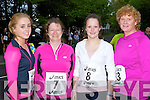 Tralee athletes at the Feet first road race in Killarney on Friday night l-r: Eadaoin McGinley, Aine Brosnan, Sarah Brosnan and Eileen Falvey..