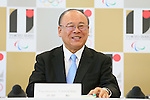 Tsutomu Takebe,  AUGUST 7, 2015 :  World Bowling (WB)  holds a media conference following its interview  with the Tokyo 2020 Organising Committee in Tokyo Japan.  (Photo by YUTAKA/AFLO SPORT)