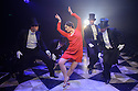 """London, UK. 04.08.2015. Danielle Tarento Productions presents """"Grand Hotel"""", at Southwark Playhouse. Picture shows:  Victoria Serra (Flaemmchen) and Company. Photograph © Jane Hobson."""