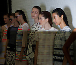 SUNO at New York fashion week 2014.<br />
