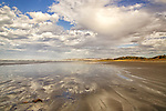 Empty beach, Goolwa, South Australia