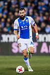 Dimitrios Siovas of CD Leganes in action during the Copa del Rey 2017-18 match between CD Leganes and Real Madrid at Estadio Municipal Butarque on 18 January 2018 in Leganes, Spain. Photo by Diego Gonzalez / Power Sport Images