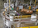 The #6 one gallon line at the Sherwin-Williams Fernley plant Wednesday, May 21, 2014