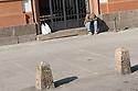 12 aprile 2020, Sassari, piazza Università. Pasqua di Resurrezione.
