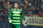 Goalkeeper Sergio Asenjo Andrés of Villarreal CF during the match Villarreal CF vs AS Roma, part of the UEFA Europa League 2016-17 Round of 32 at the Estadio de la Cerámica on 16 February 2017 in Villarreal, Spain. Photo by Maria Jose Segovia Carmona / Power Sport Images